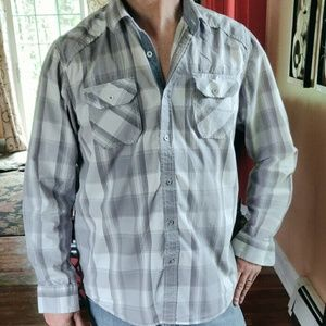 📚 American Rag Western Style Button up Shirt